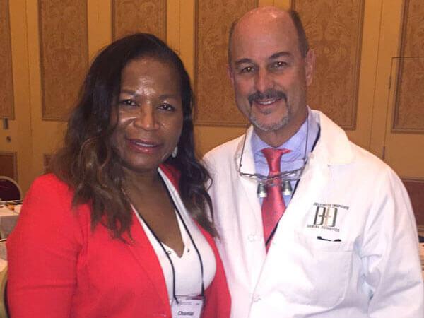 Dr. Bikoi with Dr. Brian LeSage Photo
